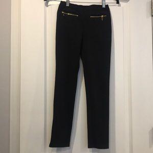 Juicy Couture girls black leggings  size L